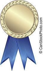 fita azul, distinção