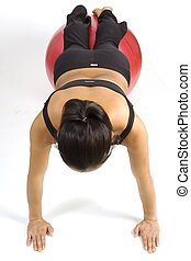 Fitball Pushup 2