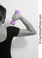 Fitness 3- b&w