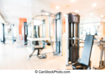Fitness and gym room