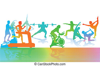 fitness machine clip art vector graphics 3 055 fitness machine eps