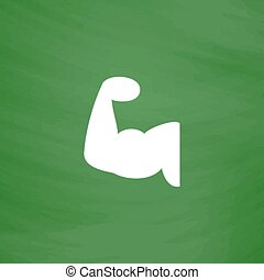 fitness arm icon