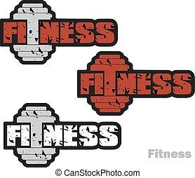 fitness badge