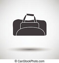 Fitness bag icon