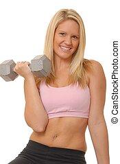fitness, blond, 9