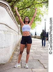 fitness celebration