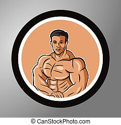 Fitness Circle sticker