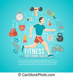 Fitness Concept Illustration