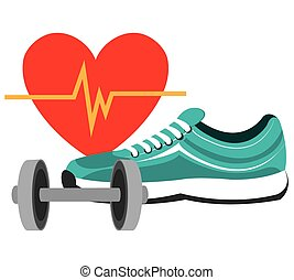 Fitness design. - Fitness lifestyle design, vector ...