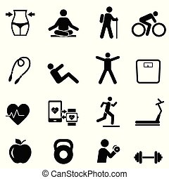 Fitness, diet and healthy lifestyle