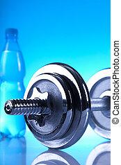 fitness dumbells