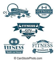 fitness, ensemble, signes