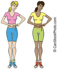 fitness, femmes