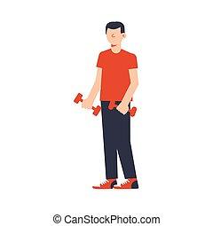 Fitness Flat Icon