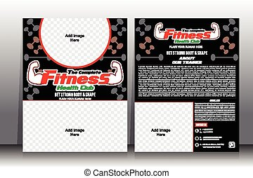 Fitness Flyer & Brochure Template