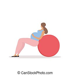 Fitness for pregnant woman