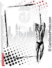 fitness frame