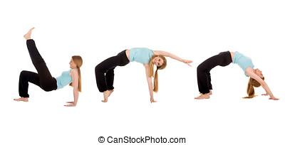 fitness, girl