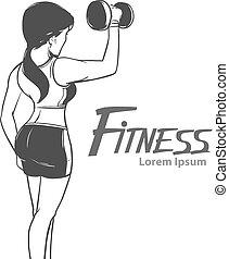 fitness girl sport