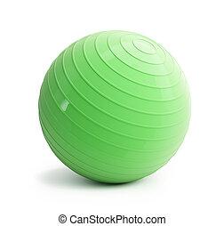 fitness, grönt kula