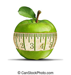 Fitness Green Apple