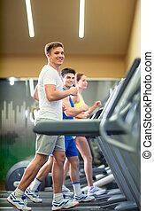 fitness, groep