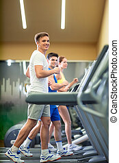 fitness, groupe