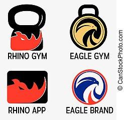 Fitness Gym Logos