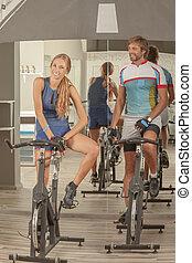Fitness Gym Woman Man Fun