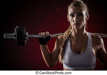 fitness, hantel