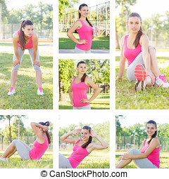 Fitness Healthy Lifestyle Female