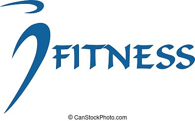 Fitness human vector logo design.