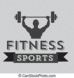 Fitness Icons - Illustration of Fitness Icons, sports and...