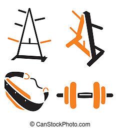 fitness, ikonen