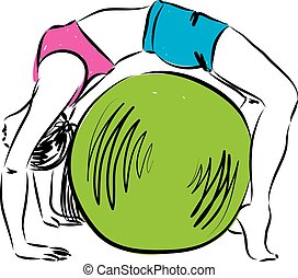 fitness illustratio 3