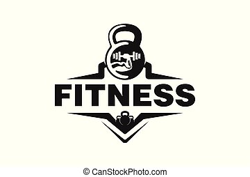 fitness logo badge Designs Inspiration Isolated on White Background