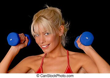 fitness, m�dchen
