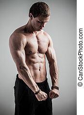 Fitness male model