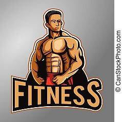 fitness, mascotte