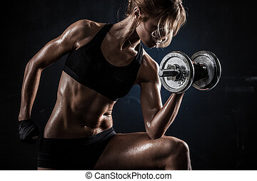 fitness, met, dumbbells
