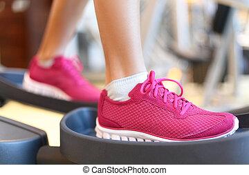 Fitness moonwalker treadmill equipment