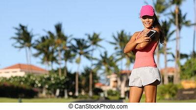 Fitness motivation running music woman runner - Fitness ...