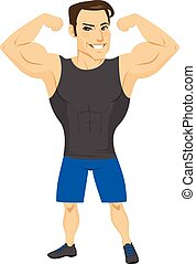 Fitness Muscular Man