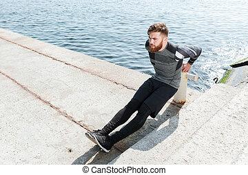 Fitness near the sea