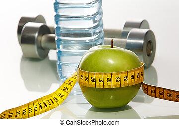 fitness, objets