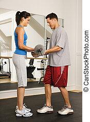 fitness, partner