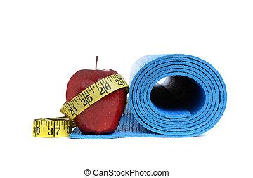 fitness, santé, objets