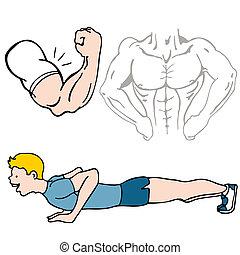 fitness, satz