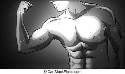 fitness, strict, musculation, entraîneur