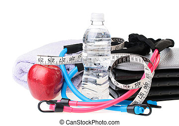 Fitness - Subjects connected with a healthy way of life, ...